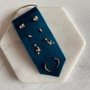 NWOT Anthropologie Delicate Earring Stud Set